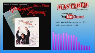 Giorgio Moroder - Love's Theme (Midnight Express OST) | Music & Mastering [on demand]