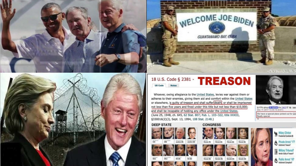 Military Tribunals at GITMO: A Partial List of Those Believed Named in Over 71,000 Federal Indictments - best news here